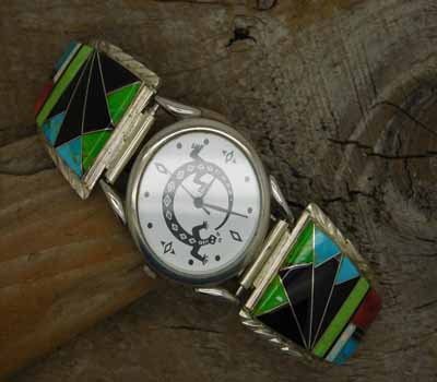 Native American Inlay Watch - A2